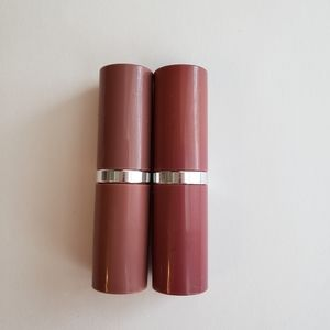 2 Clinique Lipstick - Raspberry Glace & Bare Pop